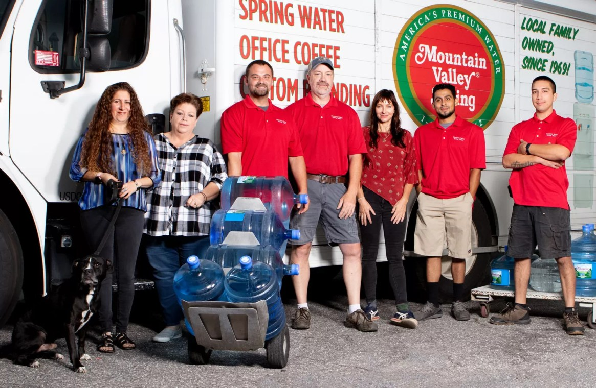 Mountain Valley Spring Water Family