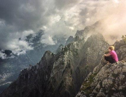 Summit above Gosausee, Austria