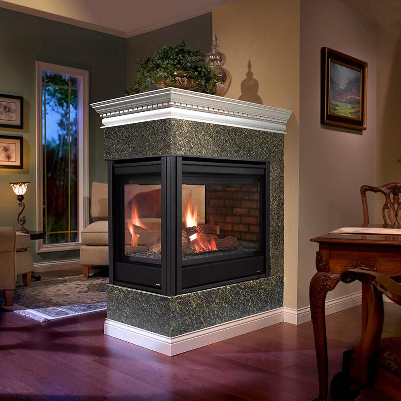 SeeThrough Fireplaces  Heatilator  Mountain West Sales