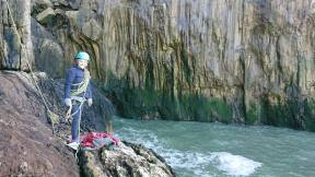Abseiling on the Great Orme