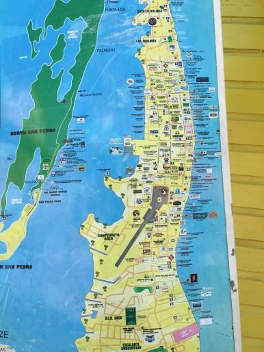 Map view of San Pedro