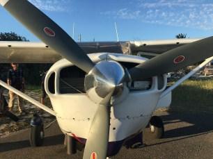 Skydive San Pedro's Cessna