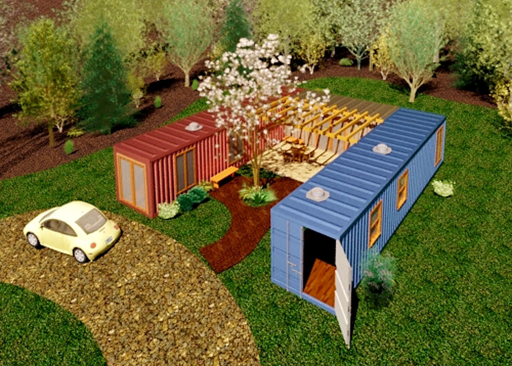 City building blocks Shipping container structures are stacking up in Asheville  Mountain Xpress