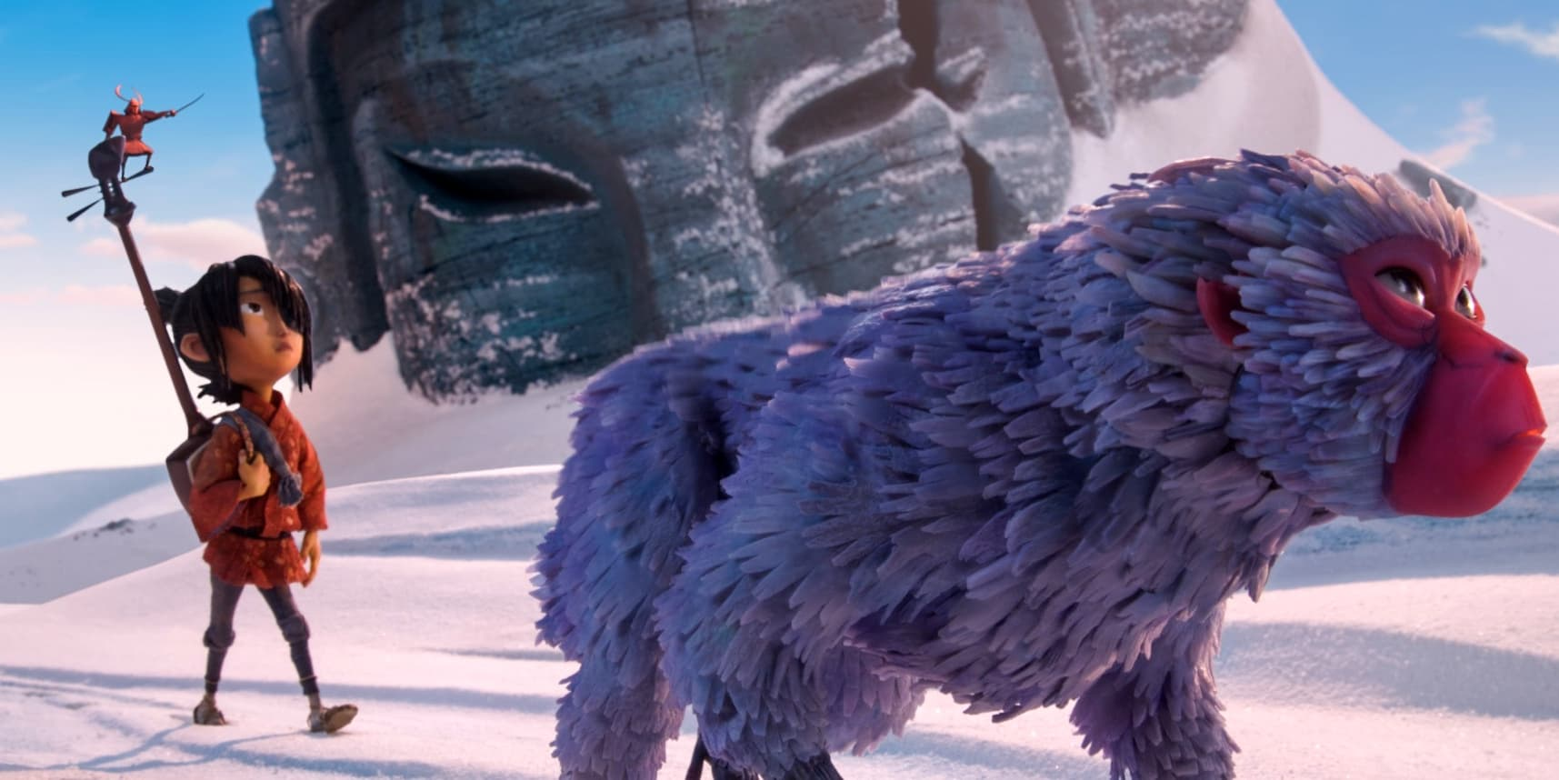 Image result for kubo and the two strings mountains