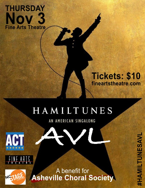 Hamilton Musical Singalong Fine Arts Theatre Nov. 3 Mountain Xpress