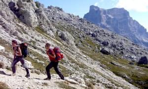 Escursionisti al Coldai