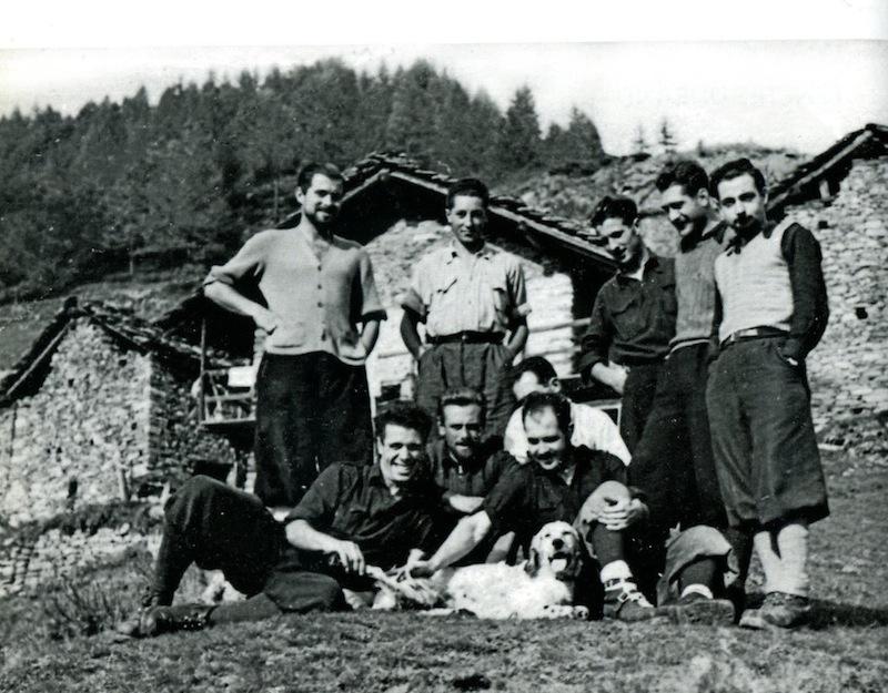 Castiglioni e partigiani 1943