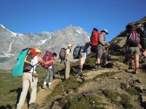 Trekking Stelvio in marcia