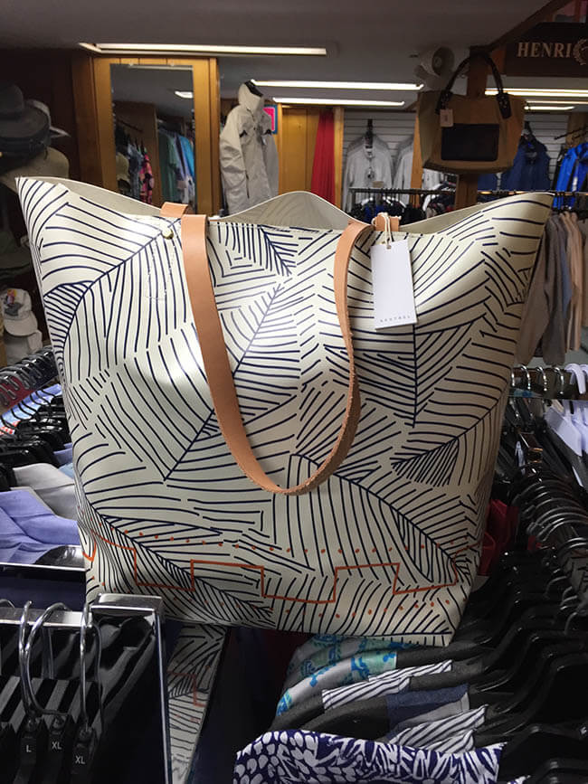 A bag at The Holmes Store