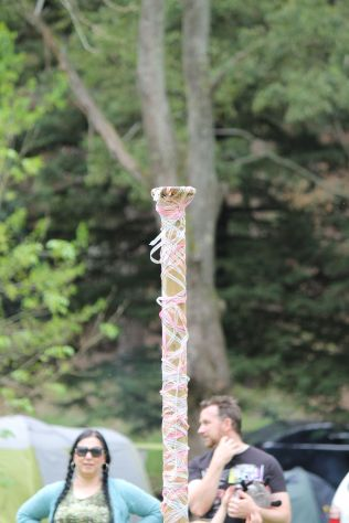 The kids' maypole, 2014. Photo courtesy of Mark H.