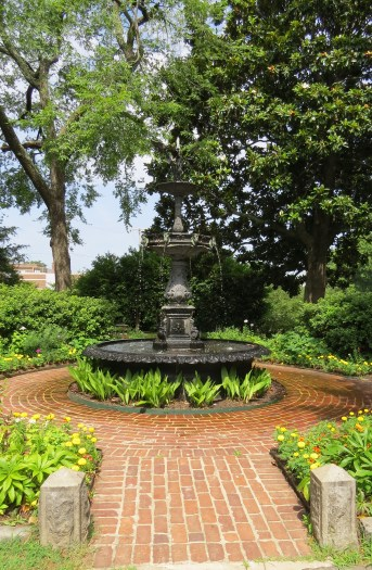 Fountain - late spring