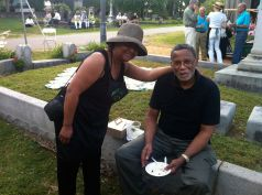 2017 Association president Sybil Jordan Hampton and her husband Albert Hampton