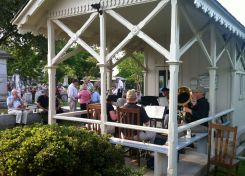 Entertainment at the 2012 Spring Picnic was a brass band