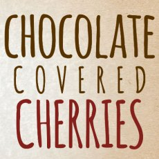 Chocolate Covered Cherries Icon