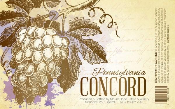 Concord Full Label