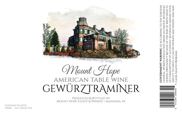 Gewurztraminer Full Label