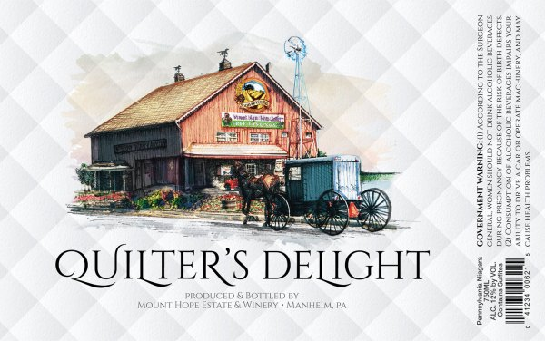 Quilter's Delight Label
