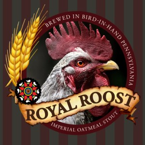 Rumspringa Brewing Company Royal Roost Label Icon