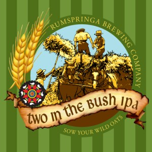 Rumspringa Brewing Company Two in the Bush Label icon