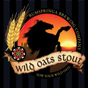Rumspringa Brewing Company Wild Oats Stout Label Icon