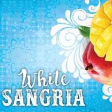 White Sangria Label Icon