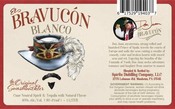 Bravuco Tequila Label