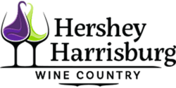 Hershey Harrisburg Wine Country Logo