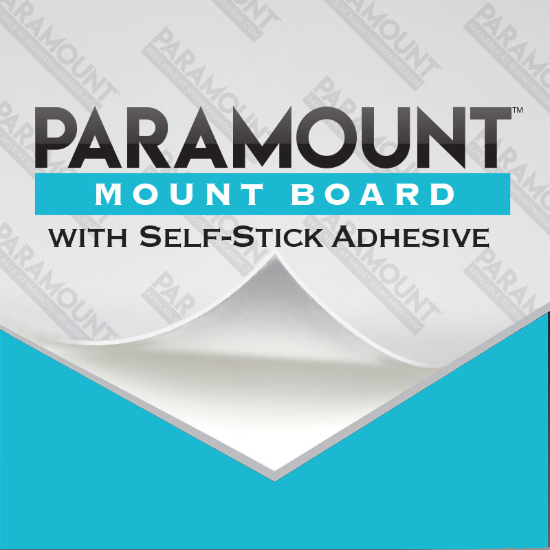 Paramount Mount Board With Self Stick Adhesive Mountingboardscom