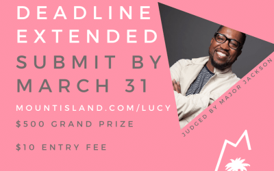 Lucy Terry Prince Prize Deadline Extended, Entry Simplified