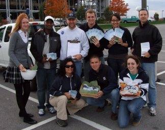 MNC Volunteers Ready to Go!