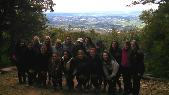 Thanks to Penn State Panhellenic Day of Service volunteers!