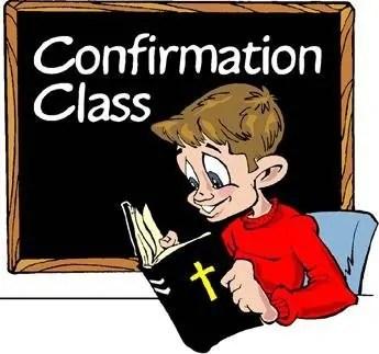 confirmation 8th grade monday