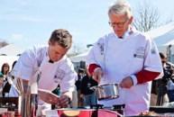 Mayor Joseph P. Riley, Jr. -and- Bryan Voltaggio, Top Chef contestant
