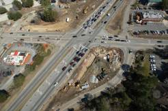Before Construction - Aerial photo