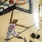 The Ladies' game, which was played as scheduled, saw Notre Dame beat Ohio State, 57-51.