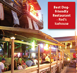 Best dog-friendly restaurant: Red's Icehouse