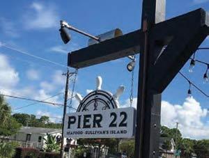 Pier 22 in Sullivan's Island, SC