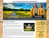 ECON Website: Belle Hall Plantation