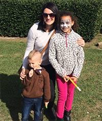 Erinn Kessler with family