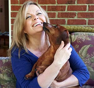 Skeeter the Dachshund, Pamela Mason - East Cooper Pets
