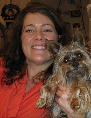 Winston the Yorkie, Kim Stockwell - East Cooper Pets