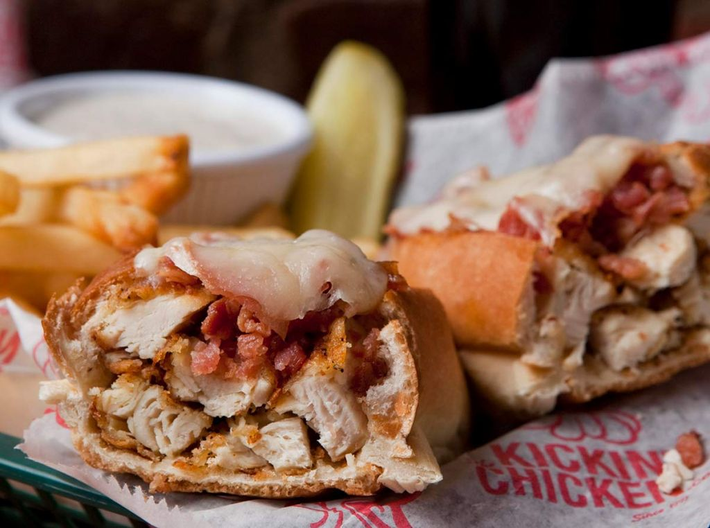 tasty food at Kickin' Chicken (photo provided)