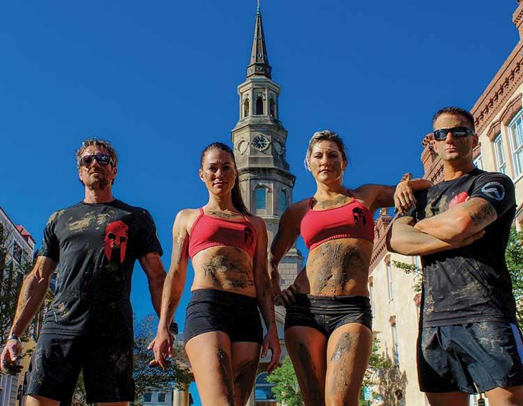 Spartan Ultimate Team Challenge - Charleston Warriors, photo courtesy of Adam Von Ins