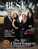 Best of Mount Pleasant 2015 Magazine Cover