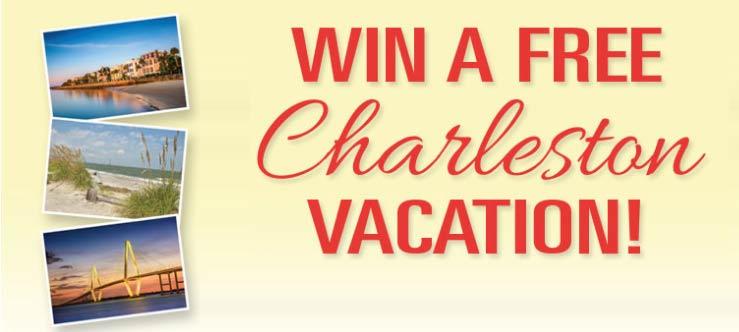 Win a free Charleston Vacation