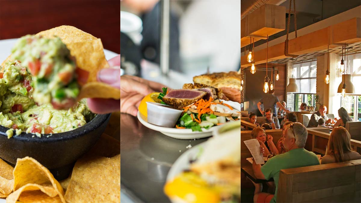 GlowFisch Hospitality's iconic eateries: Sesame Burgers & Beer, Five Loaves Cafe and Ember Wood Fired Kitchen