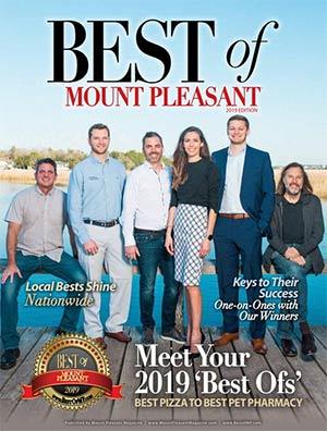 Best of Mount Pleasant 2018 Magazine Cover