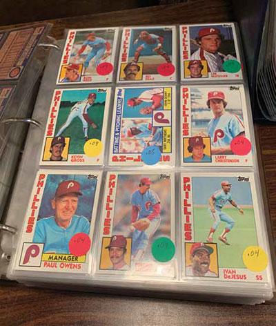 Gene Prince Philadelphia Phillies baseball cards