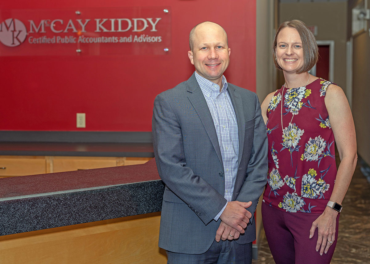 North Charleston & Mount Pleasant CPAs - Justin Kiddy, along with his wife, Melissa, are the McCay Kiddy's partners.