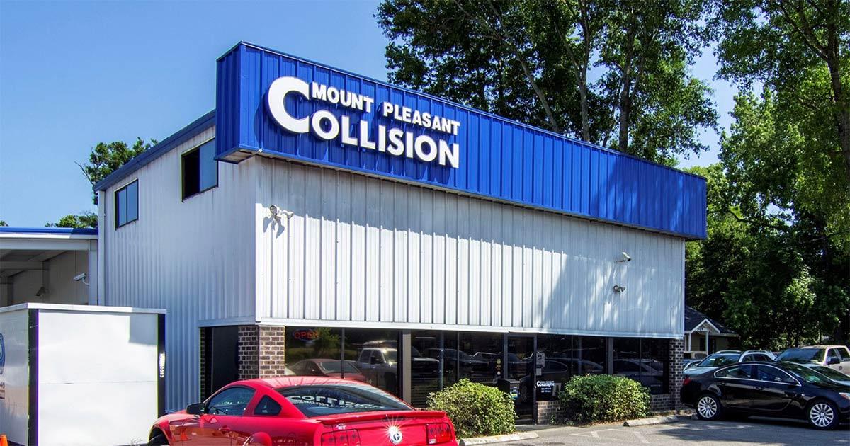Mount Pleasant Collision on Stuart Engals Boulevard in Mount Pleasant, SC